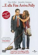 DVD • E alla Fine arriva Polly BEN STILLER JENNIFER ANISTON COMMMEDIA ITALIANO