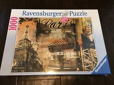 Ravensburger 1000 Piece Puzzle New 20x27 Memories of Paris