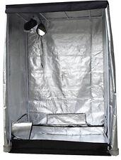 1.2m x 1.2m x 2m 600D Silver Mylar Grow Tent Box Hydroponics