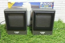 More details for ross micro speaker system re-4220 3.5mm jack - for walkman/personal stereos