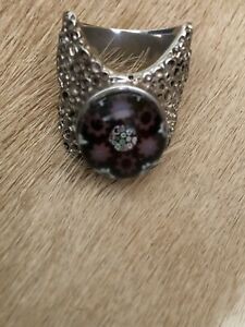 Caithness Vintage Silver Ring