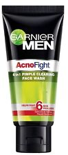 Garnier Men Acno Fight Oil Control Anti-Pimple Clearing Face Wash For Men 50gm