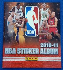 PANINI NBA Basketball 2010/11 empty album, Buyed version, mint