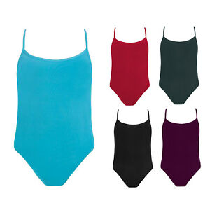 Girls Energetiks Cross Back Camisole Leotard CL13- Various Colours - RRP $41.99