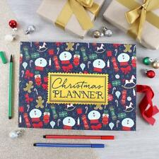 Hardback Christmas Planner Book Sticky Notes To Do Lists Shopping Gift Present