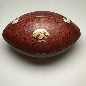 2014 Iowa Hawkeyes Game Used Nike Vapor Elite NCAA Football University Big Ten