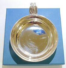 Retired Reed & Barton Sterling Silver Francis I Baby Porringer MINT IN BOX