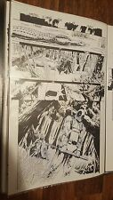 Deadpool Kills the Marvel Universe Original Comic Art Pg 8 Issue #4 Taskmaster