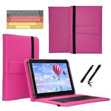 """Tastatur Case Hülle für Samsung Galaxy Tab 2 P5110 Tablet Keyboard 10.1"""" Pink"""