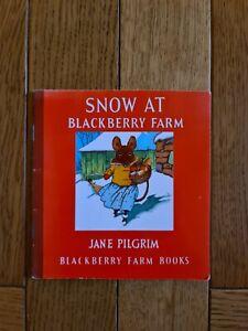 Snow at Blackberry Farm: No 17 (Little Books) by Pilgrim, Jane Paperback Book