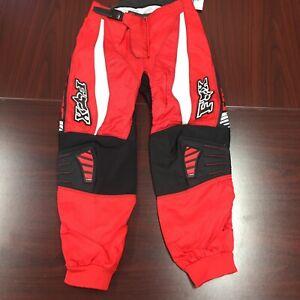 Fox Racing 180 Youth Boys Pants Size 10 / 26 Motocross ATV Dirt Bike Off Road