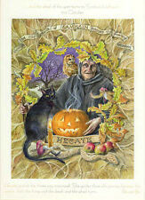 SAMHAIN HALLOWEEN FESTIVAL GREETING CARD 31st Oct Celtic PAGAN WENDY ANDREW