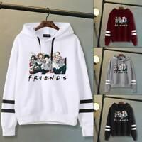 Anime My Hero Academia Hoodies Hoodie Printed Sweatshirt Jumper Tops Friends