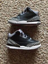 NIKE Air Jordan 3 Black Cement 3 Sz 5 10C