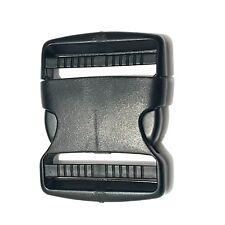 Steckschnalle 50mm Clipverschluss Gurtschnalle Steckverschluss Clip Gurt gebogen