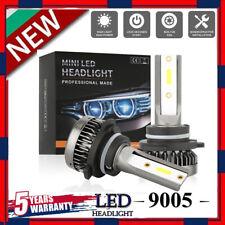 MINI 9005 LED Headlight Bulbs Conversion Kit 200W 48000LM 6000K Hi/Lo Beam Lamps
