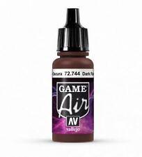 Vallejo Game Air 17 ml Acrylique Aérographe Peinture 72.744 Dark Fleshtone
