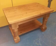 Solid Pine ~Chunky Pine ~Coffee Table ~Farmhouse Style ~Very Solid ~VGC~