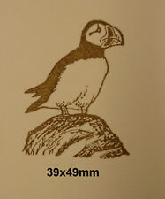 Puffin Rubber Stamp