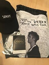 Justin Bieber Sorry Tour VIP Bag Amazing Fan Gift