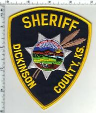 Dickinson County Sheriff (Kansas) Shoulder Patch - new style from the 1980's