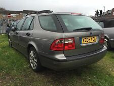 Saab 9-5 2005 2.2 Tid Breaking Grey Drivers Wing Mirror For Sale