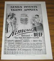 1899 AD~ARMOUR'S EXTRACT OF BEEF~CHICAGO,ILLINOIS