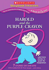 THE HAROLD & PURPLE CRAYON & MORE GREAT STORIES TO SPARK IMAGINATION (NEW DVD)