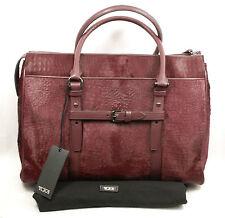 TUMI トゥミ 73218 Calf Hair LUCCA City Tote Business Bag Laptop Sleeve Case Women
