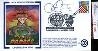 Ken Caminiti 1996 Opening Day Signed Jsa Certed Fdc Authentic Autograph