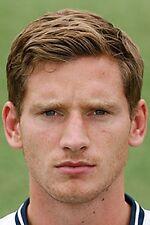Football Photo>JAN VERTONGHEN Tottenham Hotspur 2013-2014