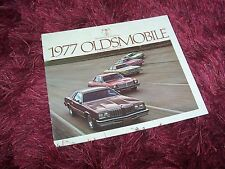 Catalogue / Brochure OLDSMOBILE Cutlass / Omega / Starfire 1977  USA //