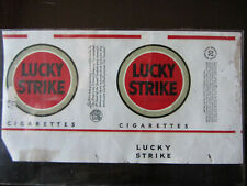 INCARTO SIGARETTE LUCKY STRIKE OLD CIGARETTES PACKET