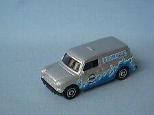 Matchbox austin mini van silver body eclatement de plombier 65mm long jouet voiture modèle