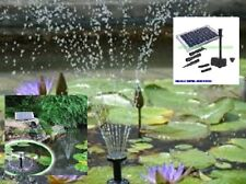 FOUNTAIN 10W SOLAR POND PUMP 600LPH DRY RUN PROTECTION  AUST OWNED BUSINESS