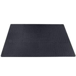 12x Tapis mousse de sol EVA ensemble de tapis puzzle sport fitness yoga gym