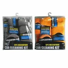 Microfiber Car Cleaning Kits Wash Maintenance Buffing Detailing Washing Care Set