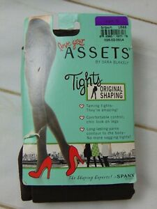 Love Your Assets Sara Blakely SPANX Brown Tights Size 5 New USA 5'4- 6'0 220 lbs