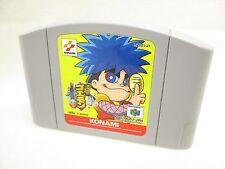 Nintendo 64 GANBARE GOEMON Dero Dero Dochu Obake Cartridge Only JAPAN Game n6c