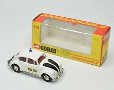 Corgi toys 373 VW 1200 Police car Virtually Mint/Boxed (Without figures)