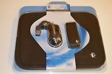I-CONCEPTS TRAVEL KIT w/RETRACTABLE MOUSE,MOBILE 4-PORT USB HUB,NEOPRENE SLEEVE