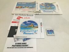 Pilot Wings Resort Nintendo 3DS Authentic Tested CIB COMPLETE Pilotwings