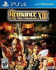 Romance of the Three Kingdoms XIII (Sony PlayStation 4, 2016) NEW FACTORY SEALED