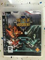 THE EYE OF JUDGMENT PS3 SONY PLAYSTATION 3