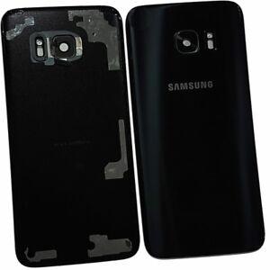 Black Original Back Plate For Samsung Galaxy S7 Edge SM-G935F