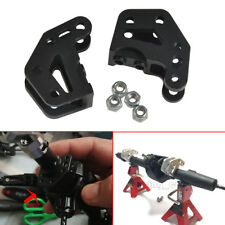 Alloy Dual Axle Lower Shock Link Mount Black for Axial Wraith 90018 RR10 1/10 RC