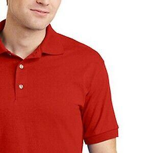 Personalized Polo Adult Shirt Work/ Uniform Rectangle Sublimation Print Emblem