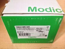 SCHNEIDER MODICON PLC PROGRAMMABLE CONTROLLER TM221ME16R 8 INPUT 8 OUTPUT