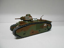 CHAR B1 BIS FRENCH TANK II WW #17 MILITARY TANKS EAGLEMOSS IXO 1/72