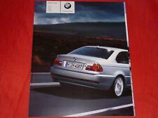 BMW 3er E46 Coupe 318Ci 320Ci 325Ci 330Ci 320Cd 330Cd Prospekt von 1/2005